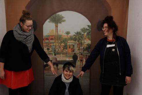All Inclusive: Geeske Janßen, Laura Därrr und Rahel Zaugg